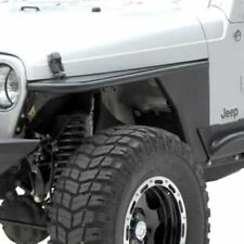 """Smittybilt 76867 XRC Armor Front Tube Fenders with 3"""" Flare, For 76-86 Jeep CJ7"""