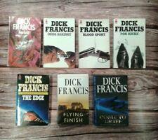Dick Francis Paperback Books Bundle x 7 books - classic novels