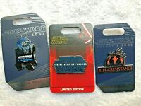 LE Star Wars Galaxy's Edge RISE of RESISTANCE PINS Grand Opening Limited Edition