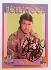 CHAD EVERETTE (1937-2012) ~Hollywood Walk of Fame Card~AUTOGRAPHED