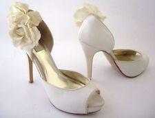 Bridal or Wedding Peep Toe Heels Women's NEXT