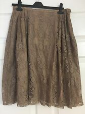 New £60 Lace Jeff Banks Evening Party Skirt Size 16