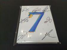 BTS MAP OF THE SOUL : 7 JungKook SUGA Jin V ALL7 Signed , PROMO CD(NOT FOR SALE)
