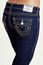 True Religion Women's Super Skinny with Flaps Big T Stretch Jeans size 27