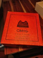 VTG Craig Movie Supply Craig JR Splicer Rewinder 8-16mm Film ORIGINAL BOX