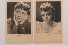 27679 2 Ross Film AK von Luise Ullrich  um 1939 Ufa Schauspieler