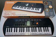 Casio SA-76 Keyboard Orange 44-Key Mini