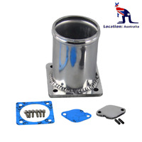 """Black 13""""750ml Billet Radiator Coolant Overflow Recovery Expansion Tank Pick up"""