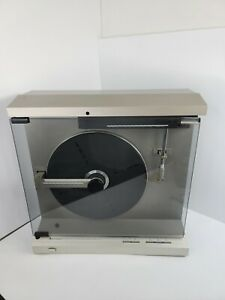 Mitsubishi LT-640 Vertical linear Tracking Turntable Tested Working Japan