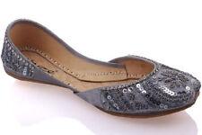 Scarpe in pelle argento per bambini dai 2 ai 16 anni