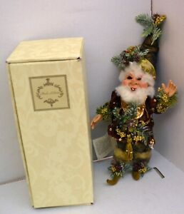 Mark Roberts Northpole North Pole Forest Elf Fairy 51-12196 W/ Certificate, Box