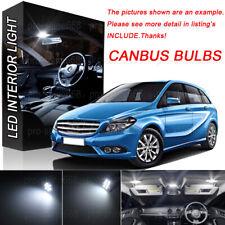 19Pcs 6K LED Interior Light Kit For Mercedes Benz B class W246 B250 B260 12-14