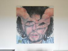 ORIGINAL PAINTING OIL ON CANVAS OF BOB DYLAN