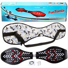 Waveboard Original FunTomia® mit ABEC-11 Kugellager Tasche & DVD kein Longboard