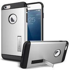 iPhone 6s/6 Case Hülle Cover Schütze Mit Kick-Stand Farbe Silber
