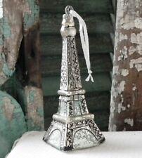 """CODY FOSTER """"Mercury"""" Glass ~EIFFEL TOWER ORNAMENT~ NWT!"""