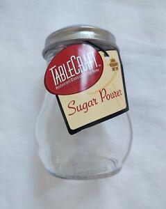Tablecraft Sugar Pourer 6 oz Tableware Accessories Glass Retro Diner 50's