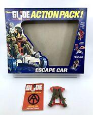 Vintage Hasbro GI Joe Adventure Team Action Pack Escape Car Box Only 1970s