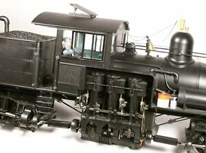 Bachmann 55 Ton 3 Truck Shay (Unlettered), 82499, Excellent Condition in Box