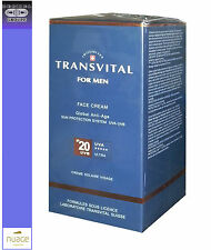 TRANSVITAL FOR MEN FACE CREAM IP20 SUN PROTECTION SYSTEM 50 ML - Solare Viso