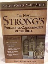New listing Strong's Exhautive Concordance of the Bible by James Strong 1996