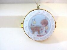 """""""He Is The Star Of The Morning"""" Precious Moments Porcelain Picture Frame Box"""