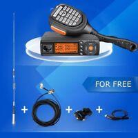 Zastone Z218 Dual Band Mobile Radio 25W FM Ham Car Walkie Talkie Cable Whole Set