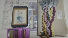 Florentina Mirabilia MD138  chart with Fabric and beads and Kreiniks and carons