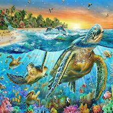 5D DIY Full Drill Diamond Painting Turtle Cross Stitch Kits Art Wall Decors Gift