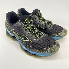 Mizuno Wave Prophecy 3 Mens Size 8.5 Running Shoes Black Volt Blue