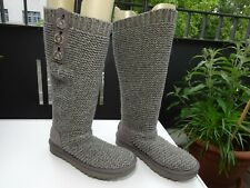 Ugg 1094949 Purl Cardy Knit soga Dam zapatos textil cordero botas talla 36 Neuw