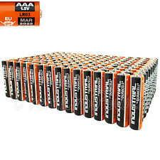 160 Duracell AAA batteries Industrial Procell Alkaline LR03 MN2400 EXP:2022