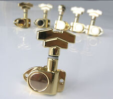 Gold Deco Style Electric Guitar Tuners 3-a-side No45