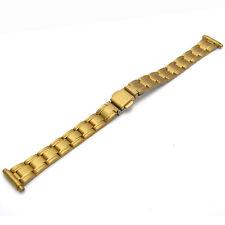 Watch Bracelet g/plated Deployment  Ladies 12-16mm #08