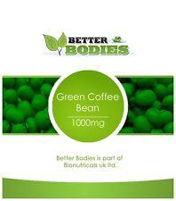 BETTER BODIES STRONG DIET SLIMMING PILLS GREEN COFFEE BEAN 2 MONTH SUPPLY 120