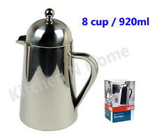 Coffee Plunger,8 cup/920ml,Stainless Steel,Double Wall insulated, LA CAFETIERE