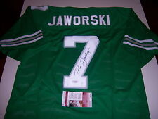 RON JAWORSKI PHILADELPHIA EAGLES JSA/COA SIGNED JERSEY