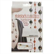 EasyKnotter Easy Knotter Bead and Pearl Knotting Tool Board Knot Tools Beading