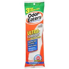 Odor--Eaters Odor- Destructeur Ultra Confort Semelles Intérieures 3 Paire
