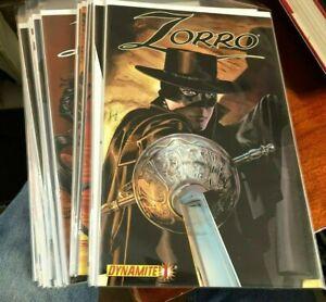 Zorro #1-20 + Dynamite Entertainment 2008-2010 VF/NM