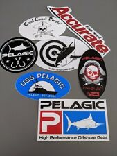 Brand New Pelagic, Targets To Tuna, East Coast Pirate, Accurate Fishing Decals