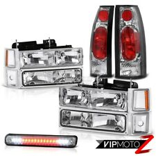 1994-1998 Chevrolet Silverado CK [FACTORY STYLE] Headlights LED 3RD Tail Lights