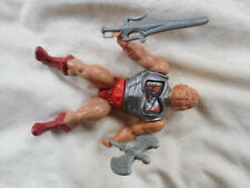 1983 BATTLE ARMOUR HE MAN MOTU MASTERS OF THE UNIVERSE ACTION FIGURE soft head