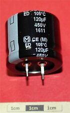 Panasonic ed snap-in Condensatore elettrolitico radiale 120µF 450V 105 ° C