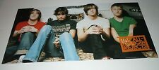 The All American Rejects~Promo Poster Flat~Double Sided~12x24~Excellent~200 2