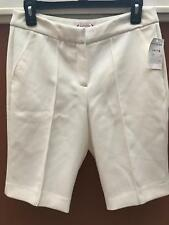 Womens Dress Shorts White Size 4 by Nanette Lepore