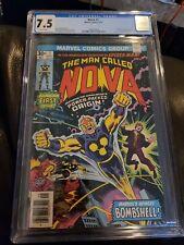 Marvel NOVA (1976) #1 KEY 1st APP Richard Rider CGC 7.5 Ships FREE!