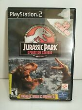 Jurassic Park Operation Genesis PS2 Sony PlayStation 2 2003 Tested