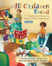 All Children Read : Teaching for Literacy in Today's Diverse Classrooms by Alan…