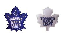 New 2 NHL Toronto Maple Leafs Logo embroidered iron on patches. (IB27,IB28)